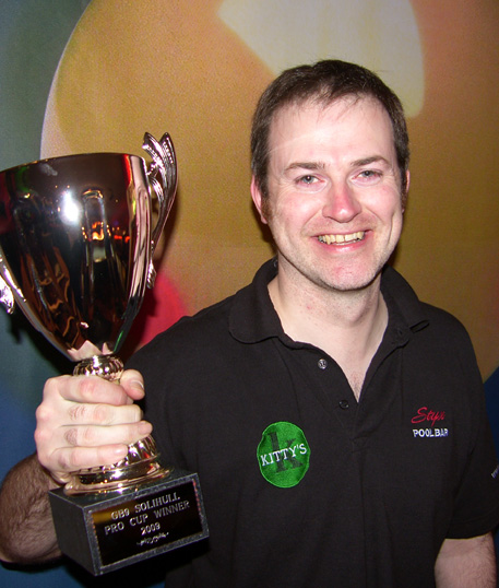 Michael Valentine wins Solihull Pro Cup