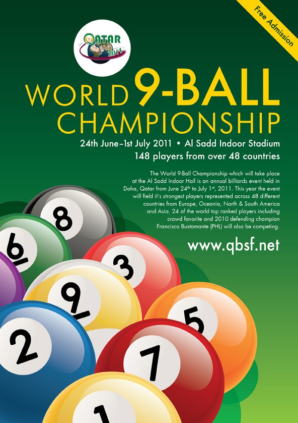8 Days Of Pool Heaven In Store As The 2012 Wpa Men 39 S World 9 Ball Championship Kicks Off In Doha