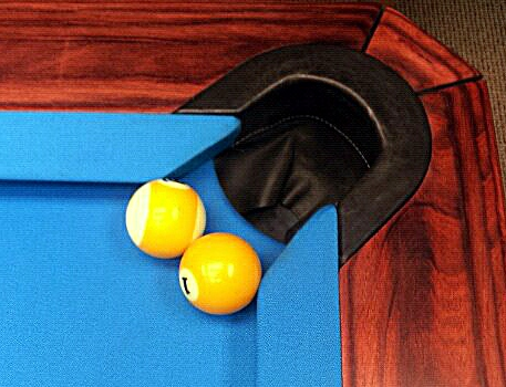 Diamond Pool Table Pocket Size