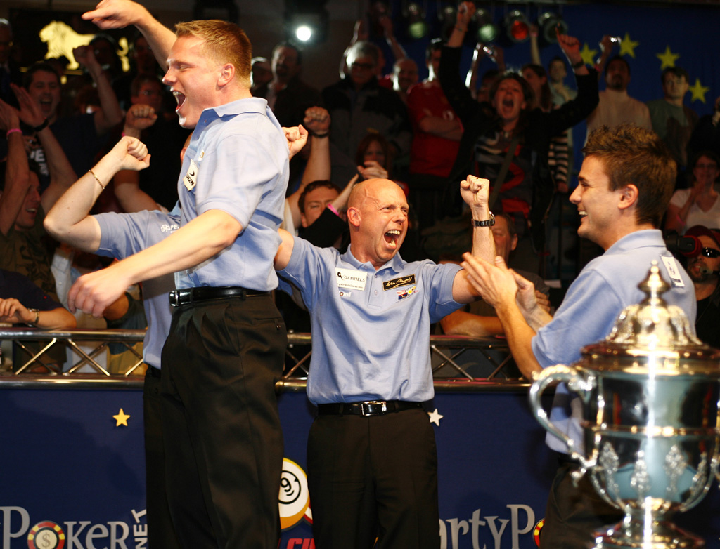 2007 MOSCONI CUP LATEST - Euro Win for First Time Since 2002